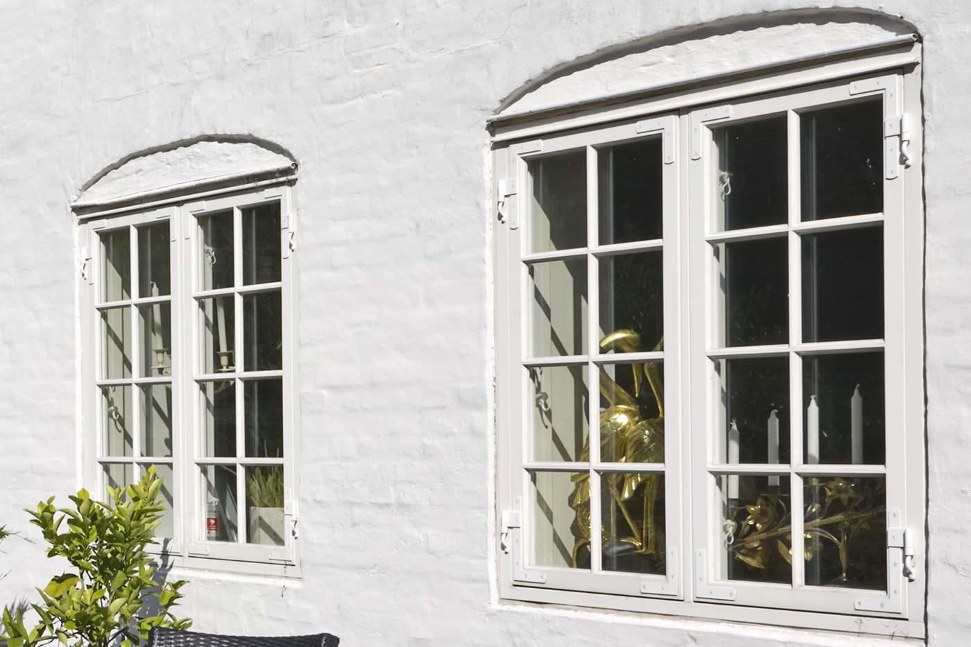tætning af vinduer